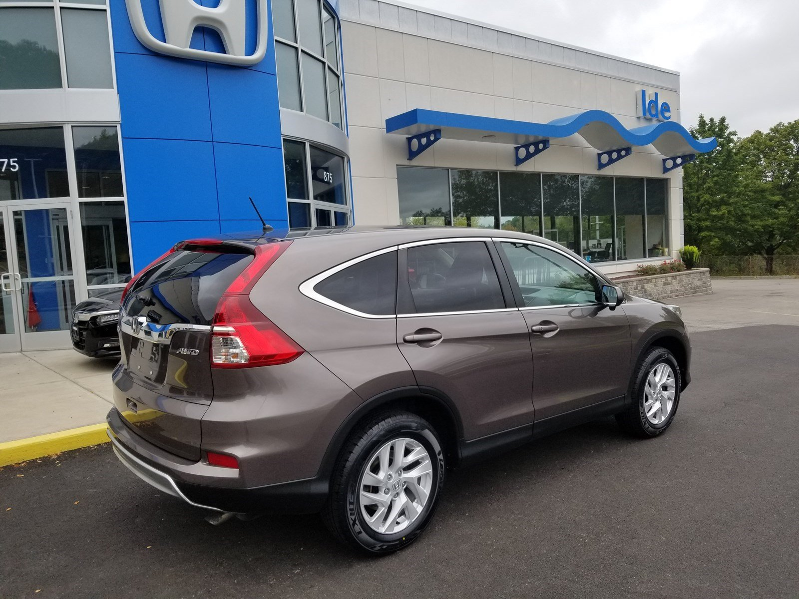 Pre Owned 2015 Honda Cr V Ex Sport Utility In Rochester Uh7586