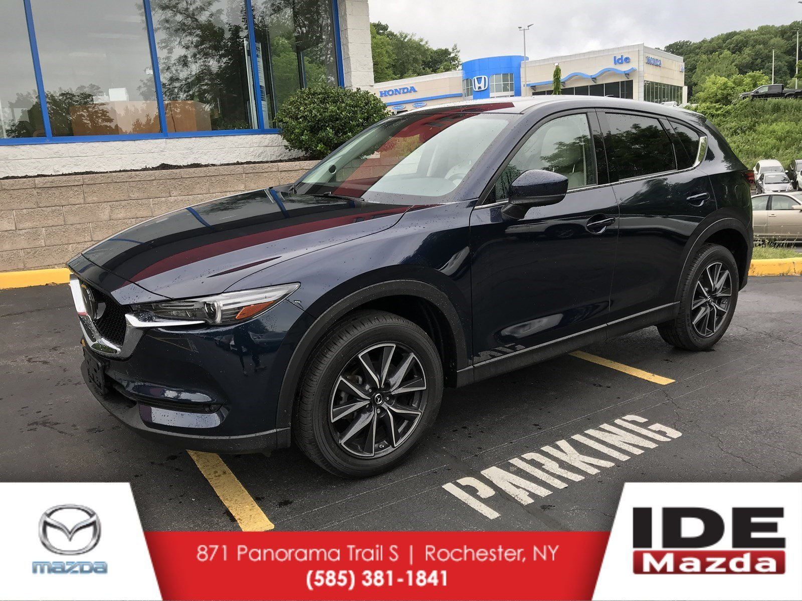 Certified Pre Owned 2017 Mazda Cx 5 Grand Touring